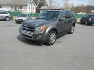 2009 FORD ESCAPE 5 DOOR LIMITED SUV, 2 YEAR WARRANTY INCLUDED