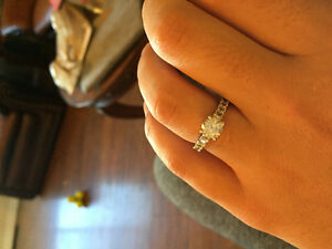 Beautiful 1 ct White Gold Diamond Ring Williams Lake Cariboo Area image 4