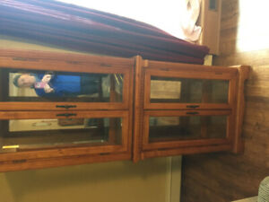 display cabinet from wheatons for sale