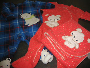 Girl's 3/6 months (Gymboree) pj's and blanket set and boys pj's