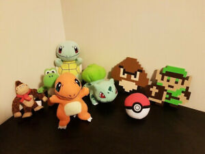 Nintendo Pokémon Toy Mix Lot Video Game Characters NES