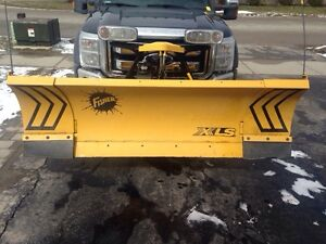New fisher snow Plow XLS