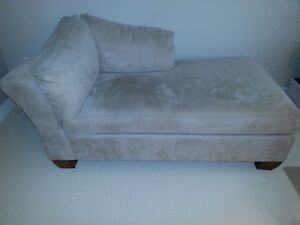 Like New Beige UltraSuede Chaise Lounger SALE!!! $250