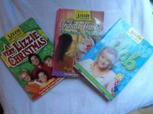 Three Lizzy McGuire Books