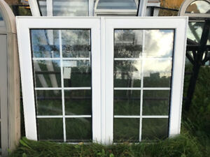 Windows with grills