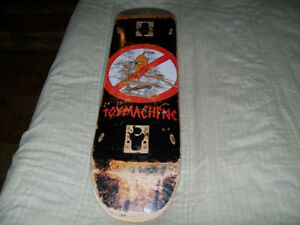 (ATTENTION!) TOY MACHINE-ANTI SCOOTER TEAM BOARD,GOOD SHAPE LO