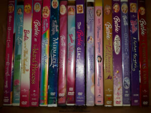 Barbie movie collection 16 DVD's & others too - L@@k READ AD
