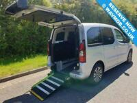 2014 Peugeot Partner Tepee 5 Seat Wheelchair Accessible Disabled Access Ramp Car