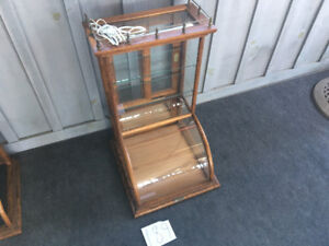 J.W. Winchester Company Co. Display Cabinet