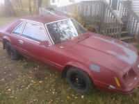 1983 302  Ford Mustang Coupe (2 door) project