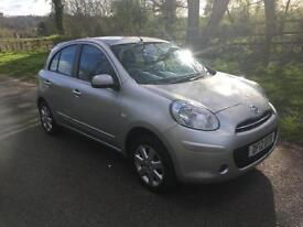 Nissan Micra 1.2 12v ( 79bhp ) Acenta LOW MILAGE + FULL SERVICE HISTORY