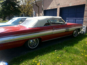 1962 Olds Starfire Red Convertible No Rust 345HPV8, Duals $17900