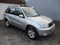 2004 Toyota Rav 4 2.0 XT3 5dr 4X4 CAR 5 door Estate