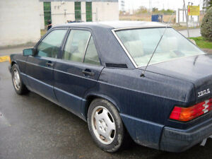 Wanted 1987-1994 Mercedes-Benz 190-Series