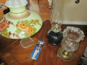 3 OIL LAMP FOR SALE GOOD CONDITION CALL 519-673-9819