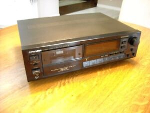 Pioneer CT-S605 Stereo Cassette Deck...MINT