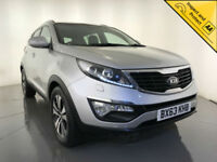 2013 KIA SPORTAGE 3 SAT NAV CRDI LEATHER INTERIOR PANORAMIC ROOF SERVICE HISTORY