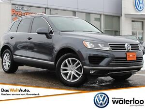 2016 Volkswagen Touareg Sportline AWD - ONE OWNER ACCIDENT FREE!