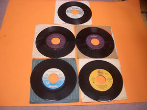 VINTAGE 45S RECORDS 70S AND 80S MEAT LOAF, ASIA, AC/DC ETC London Ontario image 3