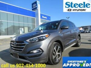 2017 Hyundai TUCSON Limited w/Navi sunroof backup camera leather
