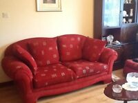 Suite with matching footstool