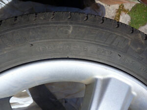 Michelin Tires on Mazda rims 195/50 R16 Stratford Kitchener Area image 2
