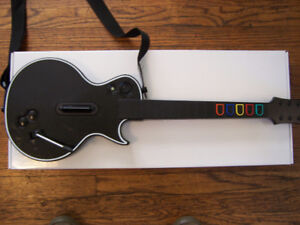 wired Guitar hero controller, xbox 360