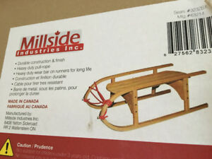 MILLSIDE INDUSTRIES STRONG WOODEN WAGON NEW