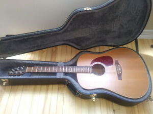 Seagull Acoustic Slim S6 with Hardcase