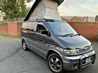 MAZDA BONGO 2.5TD 4WD ITALIAN WOODEN EFFECT FULL SIDE CONVERSION 77K MILES CLEAN