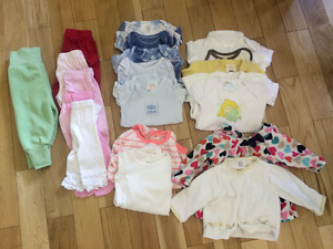LARGE 3M Lot of girl/gender neutral clothing