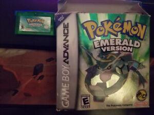 Pokemon Emeraude pour Gameboy Advance