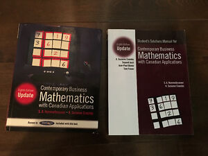 Contemporary Business Mathematics with Canadian Applications.