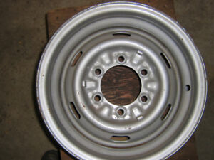 Rims 15, 14 in & 13 in steel