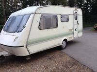 Elddis typhoon 1994 4 berth in very good condition