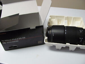 Sigma 70-300mm F4-5.6 DG OS for sale