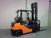 2.5 Tonne Toyota Dual Fuel LPG Forklift Perth Perth City Area Preview