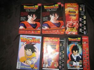 DRAGONBALL 'Z' COMIC BOOKS