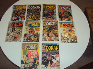 10 'Conan the Barbarian' Comics for $25 #'s 101 to 110