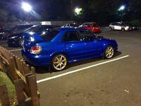Subaru WRX STI Wide track Uk Type