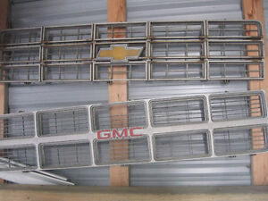 1970s chevy and gmc truck grills-new photos with chevy molding