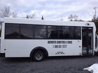 Looking for a mini coach bus driver