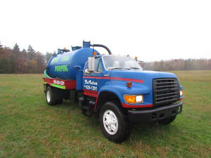 WANTED SEPTIC TRUCK.
