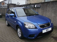 09 59 REG KIA RIO 1.4 STRIKE 5DR 1 LADY OWNER LTD EDN ALLOYS AIRCON SPORTS SEATS