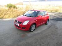 Suzuki Swift GL a red 3 Door petrol hatchback with FULL SERVICE HISTORY