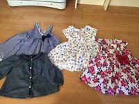 Baby girls dresses 12-18 months