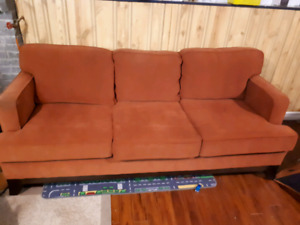 2 identical couches &tv stand
