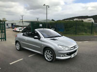 2005 55 Peugeot 206 1.6HDi 110 Coupe Cabriolet Sport