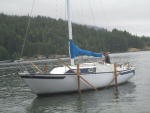 Roberts 29 with assumable moorage in Deep Bay Harbour.