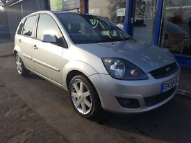 2008 FORD FIESTA 1.4 ZETEC BLUE 62K MOT MARCH 2018 ONE OWNER FROM NEW